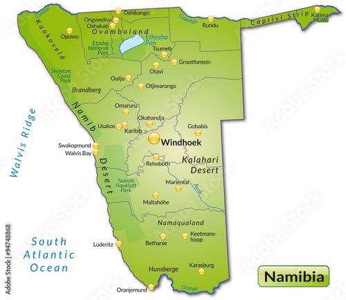 Karte Namibia Download.Karte Von Namibia Buy This Stock Vector And Explore Similar