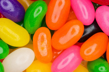 Fototapeta Colorful jelly beans