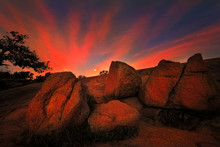 Sunrise At Enchanted Rock State Park, TX