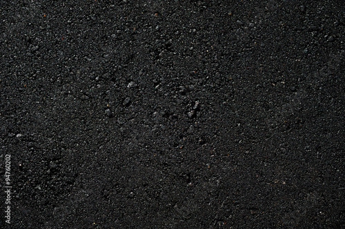 Fotografiet new paved road surface asphalt background