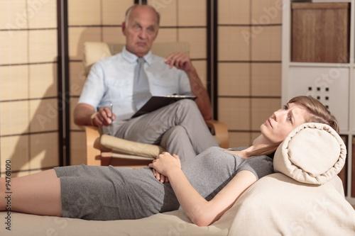 Psychoanalysis Canvas-taulu
