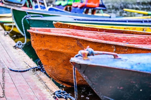 Photographie  small boats