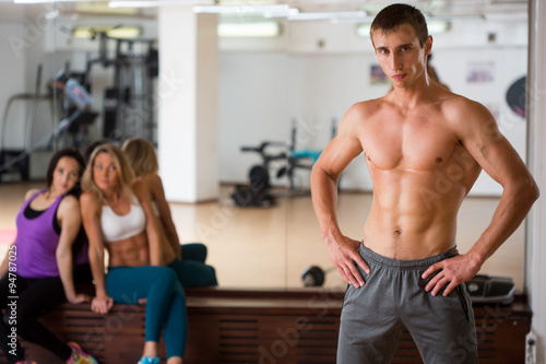Große dicke Muskeljagd