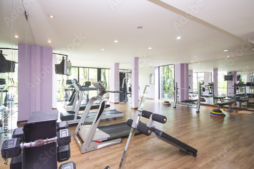 Fotografie, Obraz  Fitness Center and gym for exercise