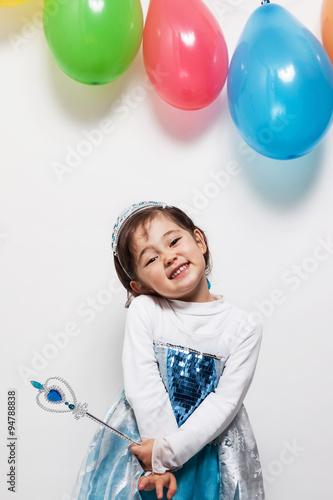 Bambina principessa Poster