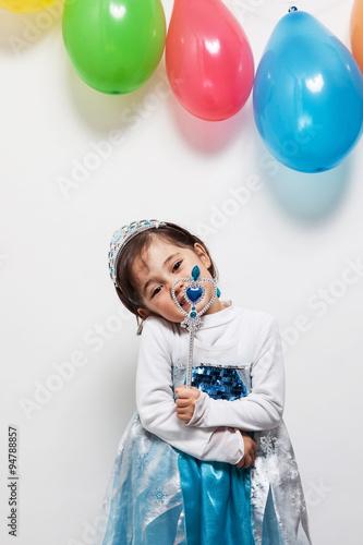 Fotografie, Tablou  Bambina principessa