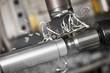 Leinwandbild Motiv cutting tool at metal working