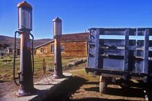 Antique Gas Pumps,  Bodie, CA