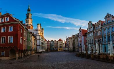 Old city in Poznan, Poland