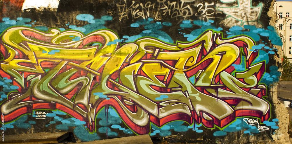 fotografia graffiti streetart berlin kup na. Black Bedroom Furniture Sets. Home Design Ideas