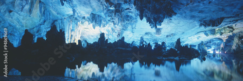 Canvas Prints Guilin Reed Flute Cave in Guilin, Guangxi Province, People's Republic of China