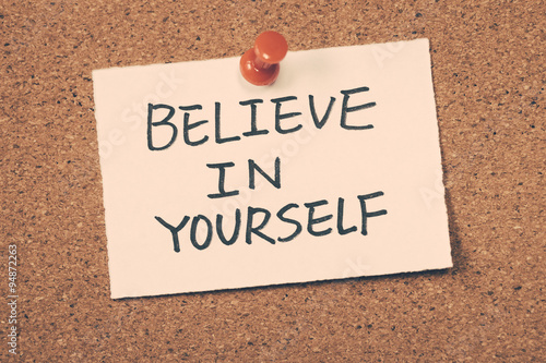 Photo  believe in yourself