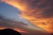 Lichtspiel am Himmel: die Nacht zieht herein