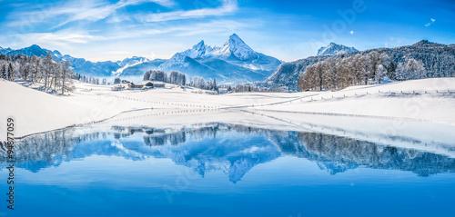 winter-wonderland-w-alpach-odzwierciedla
