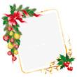 Leinwandbild Motiv Christmas letter decoration