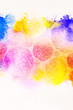 watercolor circle splashes