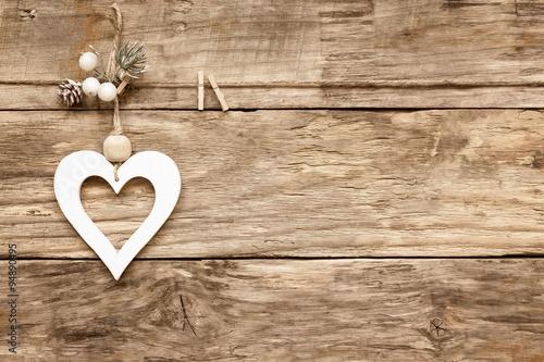 Foto Rollo Basic - valentine's day love heart card (von Sea Wave)