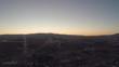 Aerial flying over Las Vegas, Nevada strip