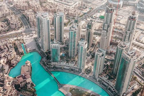 Fototapeta Budynki w Emiracie Dubaju