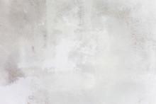 Grungy White Concrete Wall Bac...