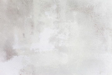 Fototapeta na wymiar Grungy White Concrete Wall Background