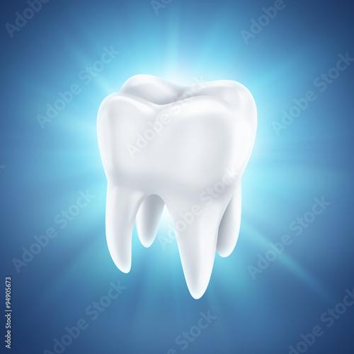 Valokuva  healthy white tooth