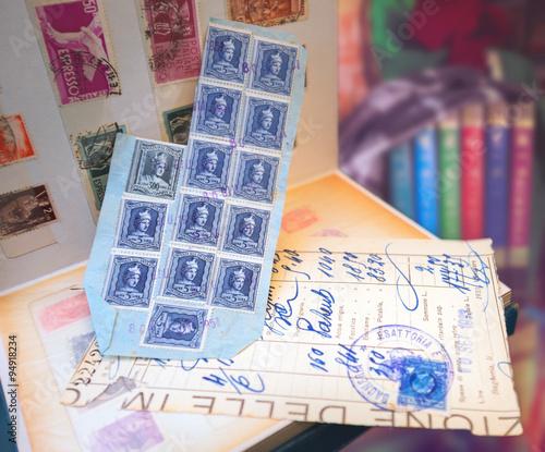 Aluminium Prints Imagination Stamp's album series