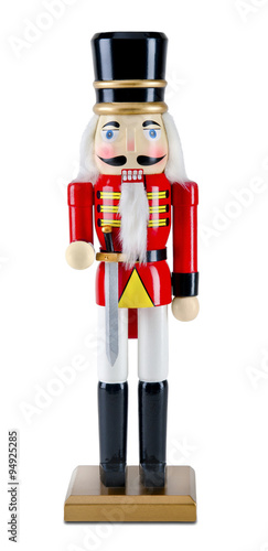 Fotomural christmas wooden nutcracker