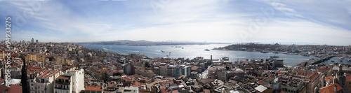View from Galata tower, Istanbul Turkey