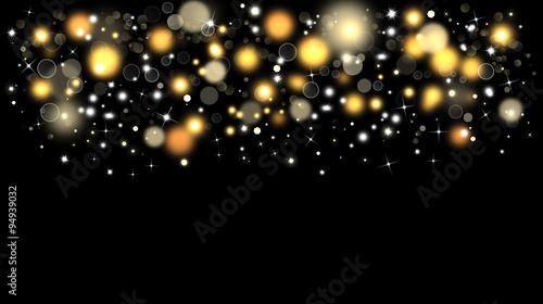 Fotografía  Shiny Christmas bokeh background