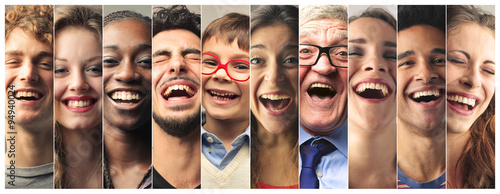 Foto Laughing people