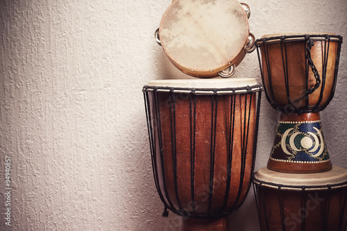 Fotografie, Tablou Various Percussion Instruments