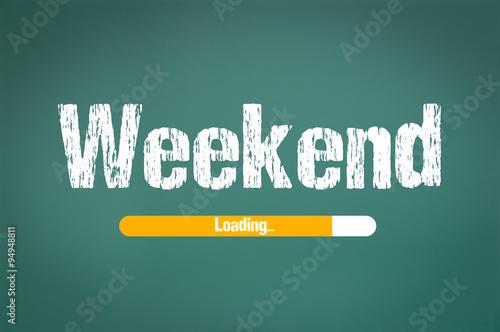 Fotografie, Obraz  Weekend loading