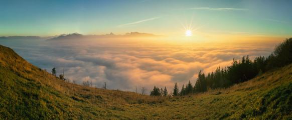 Gaisberg Sonnenuntergang
