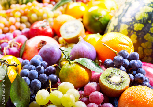 Poster Fruit fresh fruits and vegetables