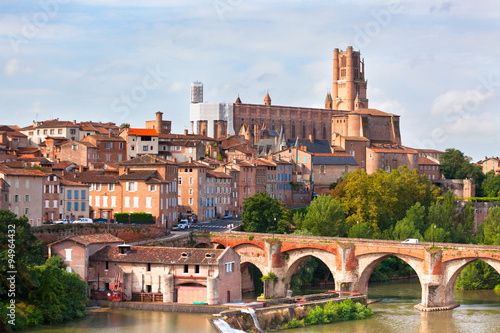 View of the Albi, France Wallpaper Mural