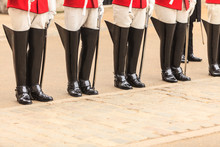 Part Of Body, Solider Horse Guards Boots In UK