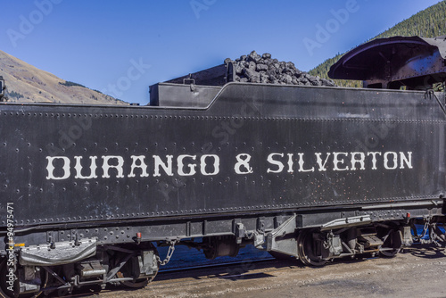Fotografie, Obraz  Coal Car Durango & Silverton Train