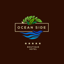 Logo For Hotel, Ocean Side Res...