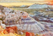 Painted Desert National Park In Arizona, USA