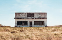 Abandoned Store On The Prairies