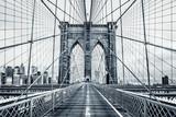 Black and white Brooklyn Bridge - 94990249