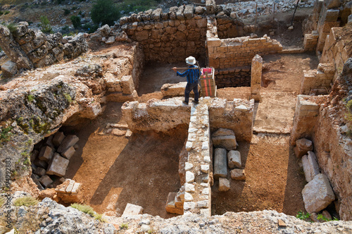 Photo Archaeological excavation
