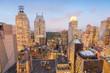 Manhattan. Magnificent city skyscrapers