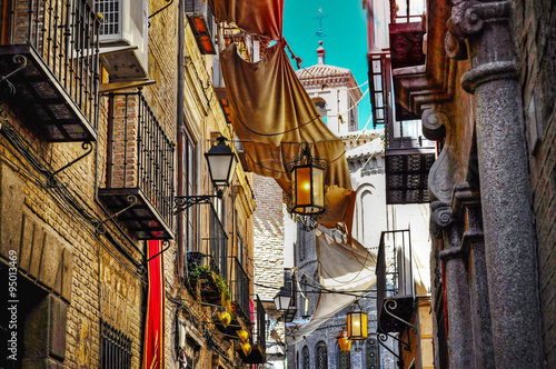 picturesque backstreet in Toledo