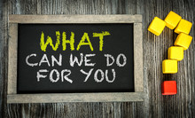 What Can We Do For You? Writte...