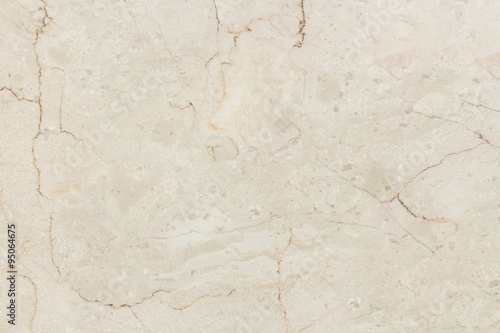 Foto op Canvas Stenen Marble with natural pattern. Beige marble stone wall texture.