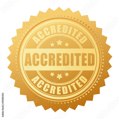 Photo Accredited seal icon
