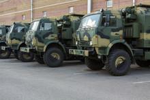 New Military Trucks On The Par...