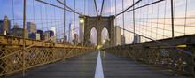 Panoramic View Of Brooklyn Bridge
